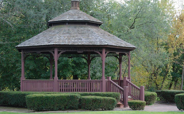 Pump House Park gazebo